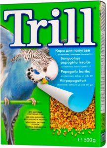 Корм Trill для волнистых попугаев
