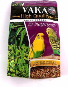 Корм ВАКА для волнистых попугаев