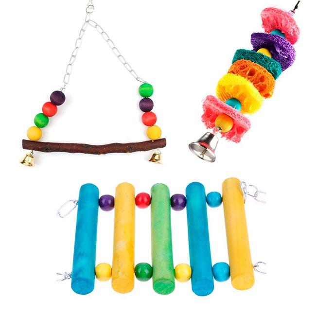 волнистый попугай игрушки
